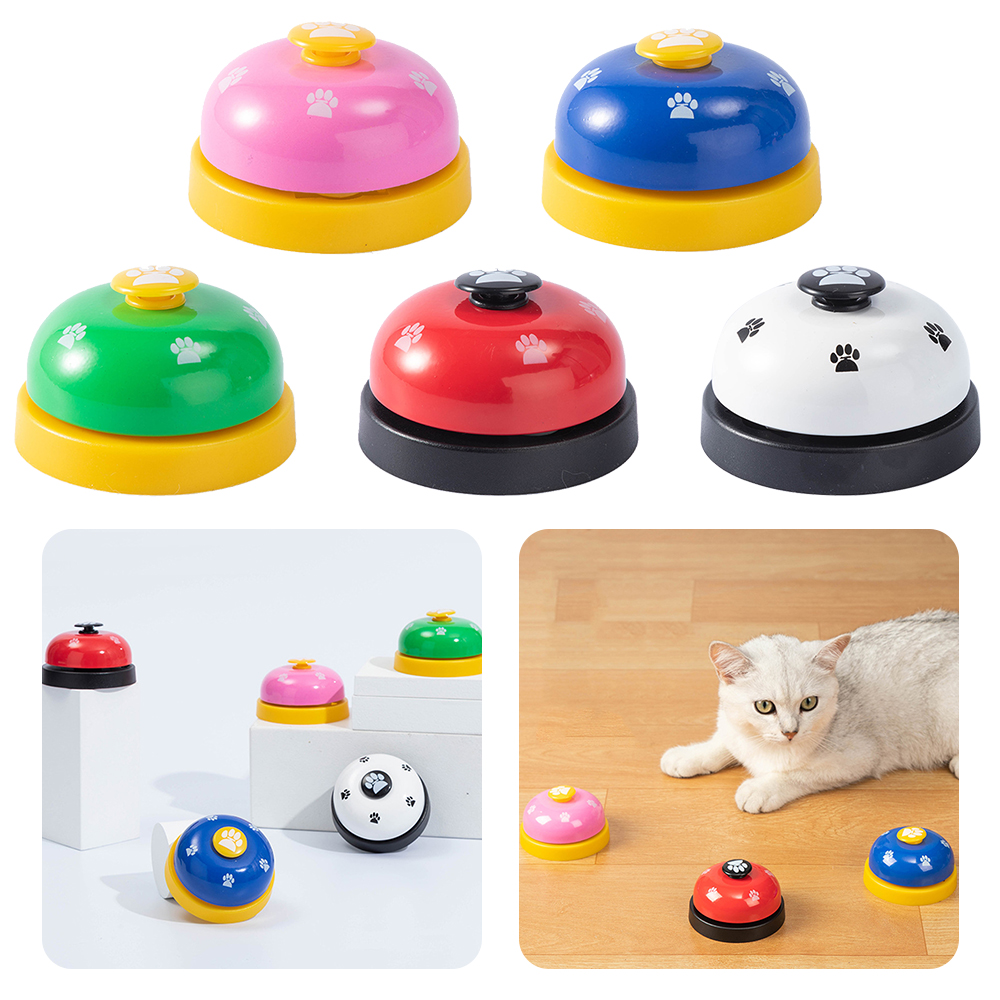 Pet Training Supply Dog Call Bell Dog Training Equipment Interactive Bell Eating Food Feeder For Dog Training Communicate Device-1