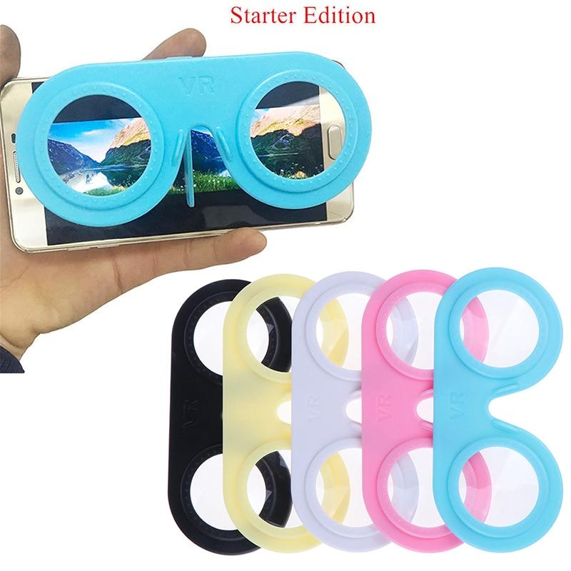 Мини складные очки виртуальной реальности 3D смартфон ВР Portable IOS Android SD & HI