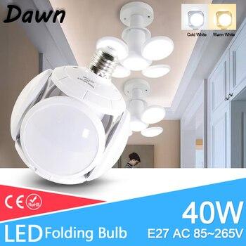 цена на New concept LED Bulb E27 40W AC 85-265V Cold White Warm White led lamp Bombilla Spotlight Lampada LED light football new Bubble