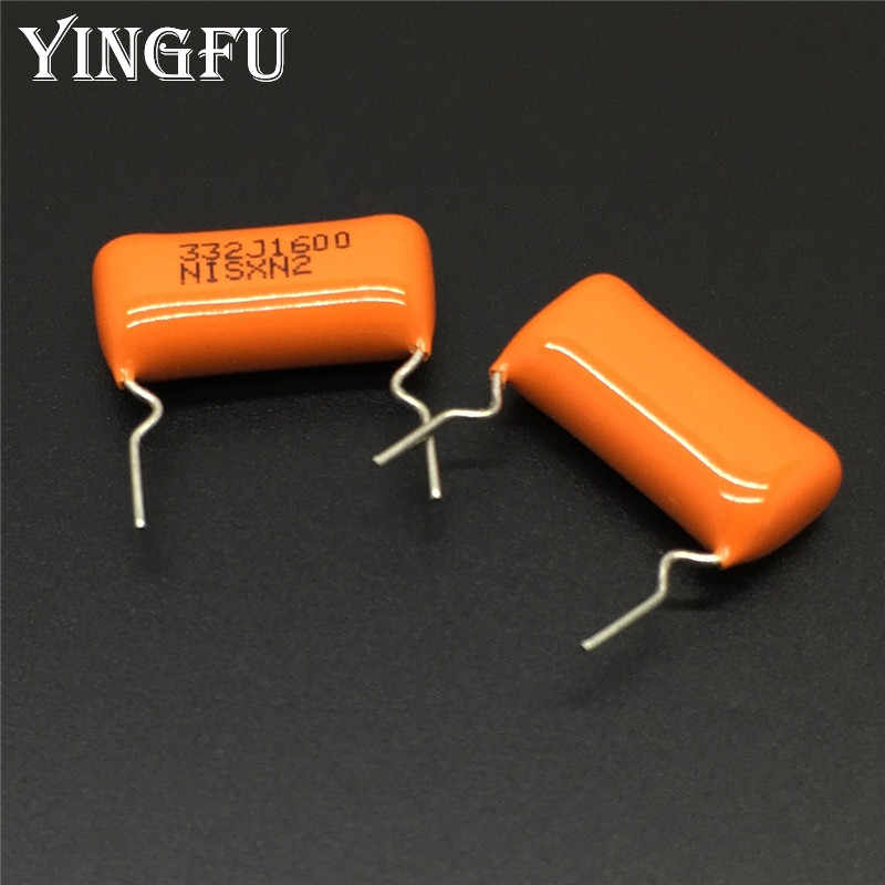 100pcs=10value*10pcs CBB thin film capacitor package 100V series