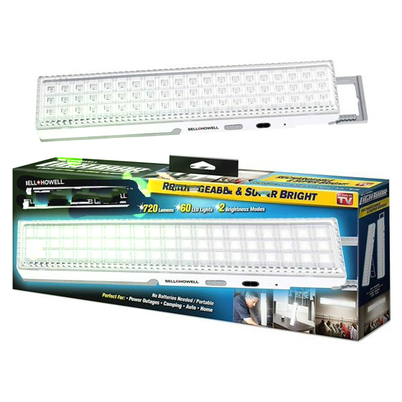 60LED  Saving Emergency  Rechargeable  Light For Camping Fishing Hiking Home Camp Outdoor Lamps Ceiling Emergency Light