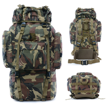3l 6l outdoor climbing bags military tactical backpacks waterproof oxford molle camping pack hiking waist bags mochila militar 65L Military Backpack Molle Camping Climbing Tactical Bag Outdoor Hiking Bags Army Travel Sports Tourist Waterproof Backpacks