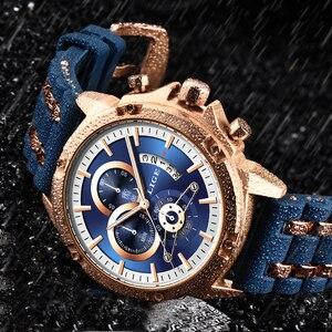 Image 2 - Relogio Masculino 2020 LIGE Fashion Mens Watches Top Brand Luxury Unique silicone Waterproof Wrist Watch Men Sport Quartz Clock