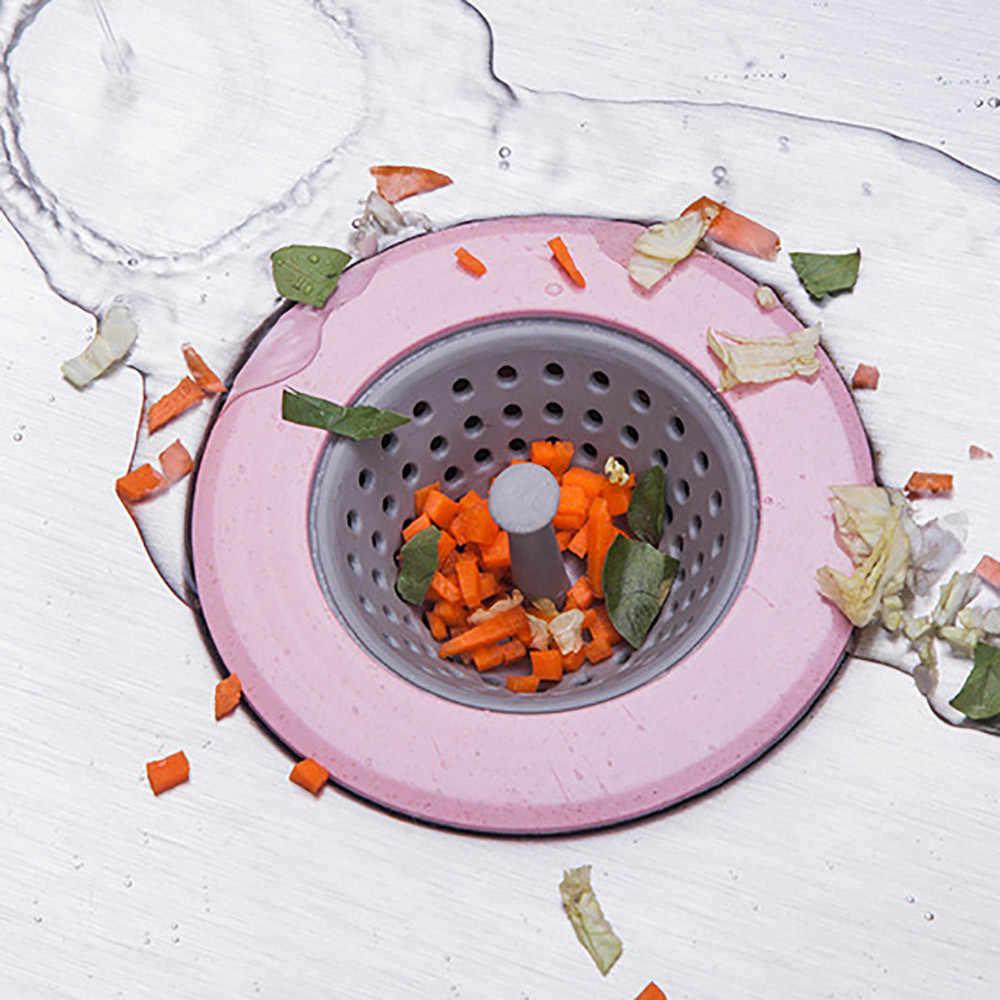 Nova casa vivendo dreno de chão rolha banho coletor pia filtro esgoto silicone pia da cozinha kichen acessórios