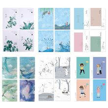Get more info on the 4Pcs A5 Notebook Sketchbook Cute Cartoon Diary Planner for Drawing Painting Graffiti Line Inner Page Office School Supplies