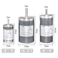 SRZ Диаметр 38/50/60 мм DC Permanenr магнитом, работающий от постоянного тока 12V 24V высокое Скорость 2000/3000/4000/5000 об/мин высокое качество щетки мотора пос...
