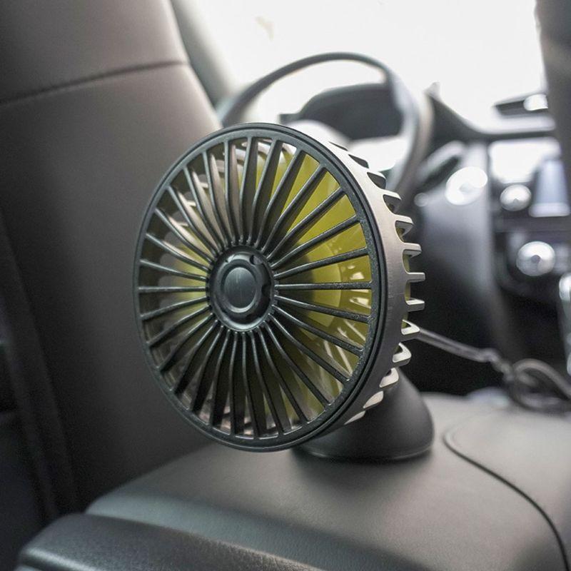 Saugnapf Auto Dashboard 5V USB Fan 3 Speed Control Schreibtisch USB Fan für SUV Boot