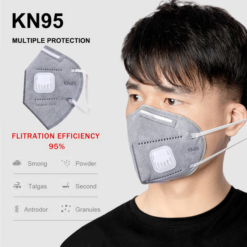 10/20/50/100pcs 5 Layer KN95 Mask Protective Safety Same As KF94 FFP3 Anti Infection KN95 Face Mask Particulate Respirator PM2.5
