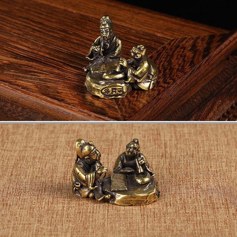copper figurines  (3)
