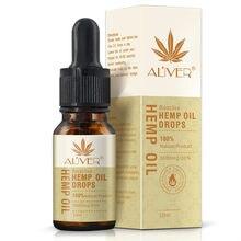 Aliver Herbel Biologische Hennepzaad Olie Eetbare Massage Essentiële Olie Cbd Olie Soomthing Druk Pijn Verbeteren Slaap Stress