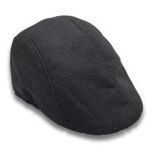 Chapéu de golfe newsboy clássico boné de lã nova espinha de peixe duckbill ivy h9