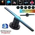 3D Голограмма рекламный дисплей проектор вентилятор голографическое изображение 3D удаленный голографический проигрыватель светодиодный в...
