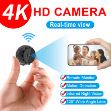 JOZUZE D11 4K Mini Camera WiFi Smart Wireless Camcorder IP Hotspot HD Night Vision Video Micro Small Cam Motion Detection Magnet