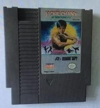 Akcja Jackie chana Kung Fu   72 szpilki 8 bitowy kartridż z grą