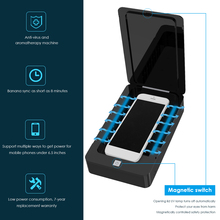 Disinfection-Box Sterilizer Cell-Phone-Sanitizer Uv-Light with Aromatherapy-Function