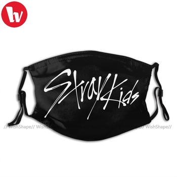 Stray Kids Mouth Face Mask KPOP STRAY KIDS OFFICIAL LOGO Facial Mask Nice Adult with Filters Kawai Mask