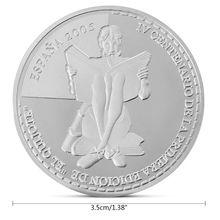 Испанский новелла Дон Кихот Памятная коллекция монет подарок сувенир