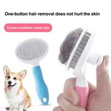 Самоочищающаяся расческа для удаления шерсти домашних животных