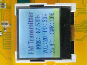 Image 5 - 30 Вт fm передатчик, цифровой светодиодный fm радиоприемник PLL, стерео частота 76 м 108 МГц