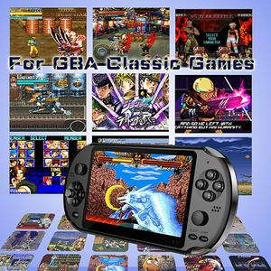 Image 2 - X12 משחק וידאו משחקי כף יד משחק קונסולת עבור PSP רטרו כפולה נדנדה ג ויסטיק 5.1 אינץ מסך טלוויזיה משחק נגן עבור SFC/GBA/NES/Bin