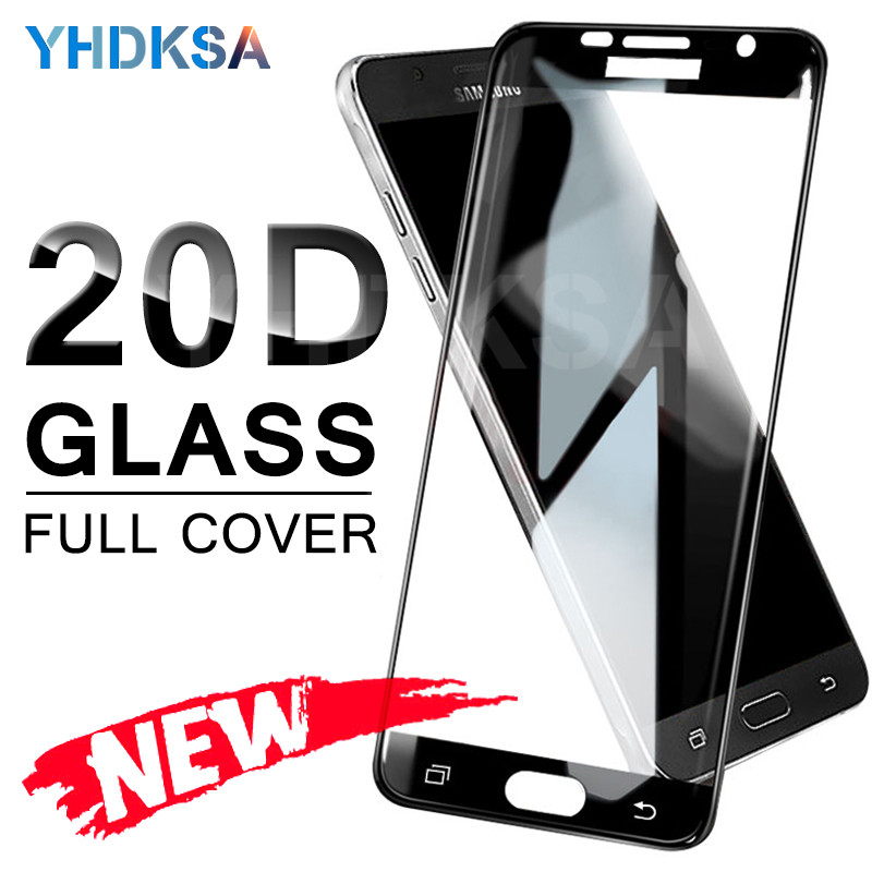 9D Full Cover Tempered Glass on the For <font><b>Samsung</b></font> Galaxy A3 A5 A7 J3 J5 J7 2016 2017 <font><b>S7</b></font> <font><b>Screen</b></font> <font><b>Protector</b></font> safety Glass <font><b>Film</b></font> Case image