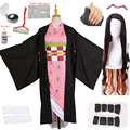 Кимоно для косплея для взрослых и детей, японское аниме «рассекающий демонов», костюм для косплея, камадо незуко