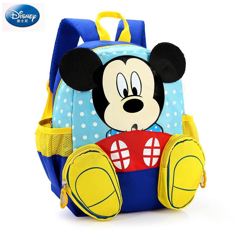 Zaino Disney per bambini asilo per bambini simpatico cartone animato Minnie Kids topolino borsa per la scuola