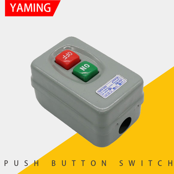 цена на P142 KH series on-off 3P 30A/250V 20A/380V transfer push button switch control Box electrical Motor start switch KH-305