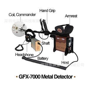 super strong signal metal long range gold detector GFX-7000