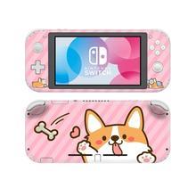 Наклейка для Nintendo Switch с изображением сибирской хаски собаки, наклейка для Nintendo Switch Lite, Защитная Наклейка для Nintendo Switch Lite