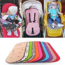 Подушечка Для сиденья детской коляски детская коляска тележка для стульев мягкий матрас Детская Коляска Подушка аксессуары