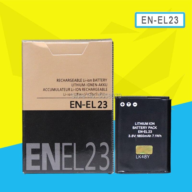 EN-EL23 EN EL23 Baterias Bateria Para Nikon Coolpix S810c P900 P900s P610 ENEL23 P600 Substituição Câmera Digital