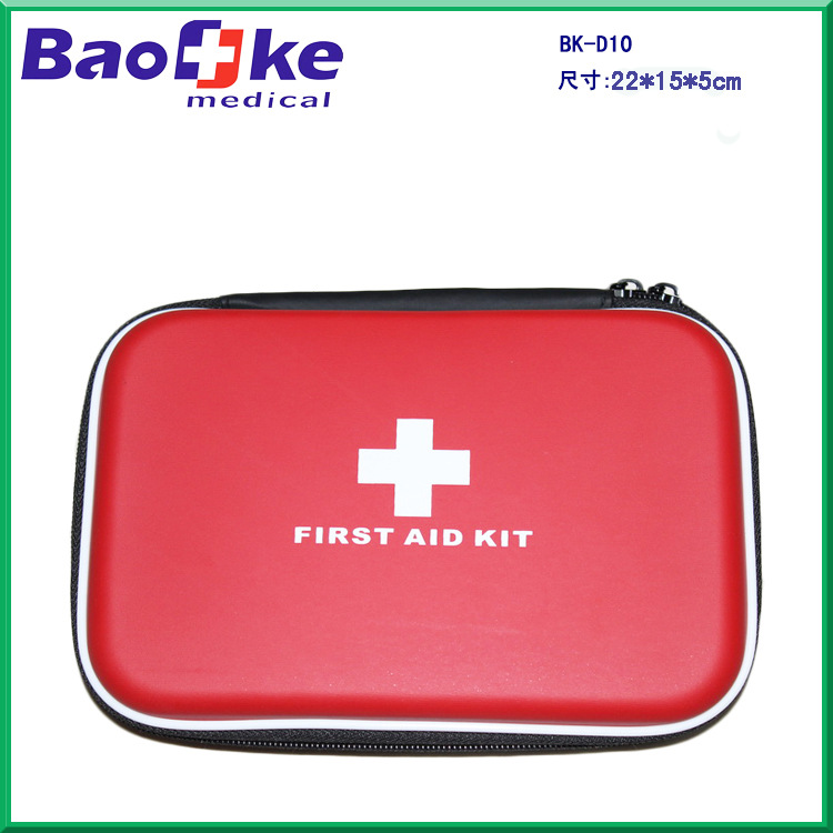 EVA First Aid Kit First Aid Box Smart PU Fabric First Aid Small Household Customizable Emergency Kit Open Country Kits D10