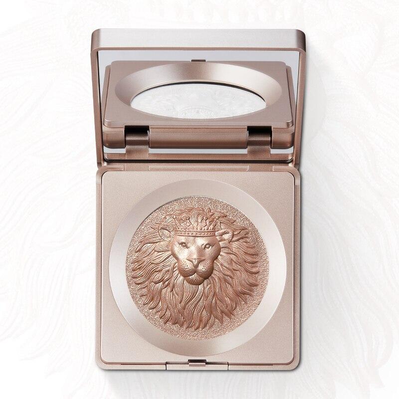 Lion Diamond Highlighter Bronzer High-gloss Contouring Body Glitter Illuminator Makeup Highlighter For Face Sculptor