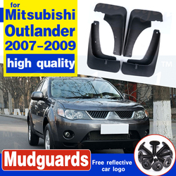 Przednie tylne formowane błotniki samochodowe dla Mitsubishi Outlander 2007 2008 2009 błotniki błotniki błotniki błotniki błotnik