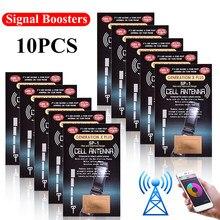 A etiqueta do realce do sinal do telefone móvel de 10 pces é apropriada para a etiqueta do impulsionador da antena do telefone celular do impulsionador da antena do gen x