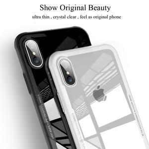 Image 5 - 아이폰 7 케이스 강화 유리 휴대 전화 케이스 아이폰 8 7 플러스 shockproof 전체 커버 아이폰 x 10 funda 액세서리