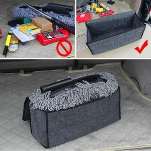 Image 4 - Auto Opbergtas Kofferbak Organizer Box Vouwen Auto Rear Opslag Pouch Auto Styling Accessoires Opbergen Opruimen Seat Back Bag