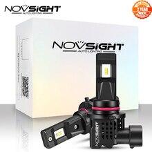 NOVSIGHT Mới 1:1 Thiết Kế Mini 2 LED Đèn Pha Ô Tô H11 H4 H7 9005 9006 HB3 HB4 H1 H3 55W 12000LM 6000K Trắng Tự Động Đèn LED
