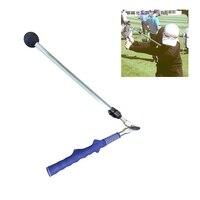 Golf Swing Trainer Beginner Alignment Golf Clubs Gesture Correct Practice Guide Golf Swing Sticks