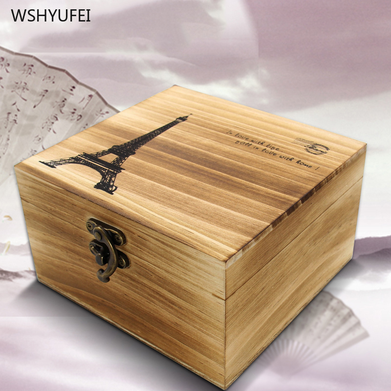 42Pcs Sewing Box High-grade Exquisite Suits Home Sewing Kits Wood Retro Open Cover Line Box Sewing Storage Box Dowry Wedding