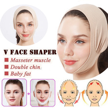 Double Chin Face Bandage Slim Lift Up Anti Wrinkle Mask Strap Band V Face Line Belt Women