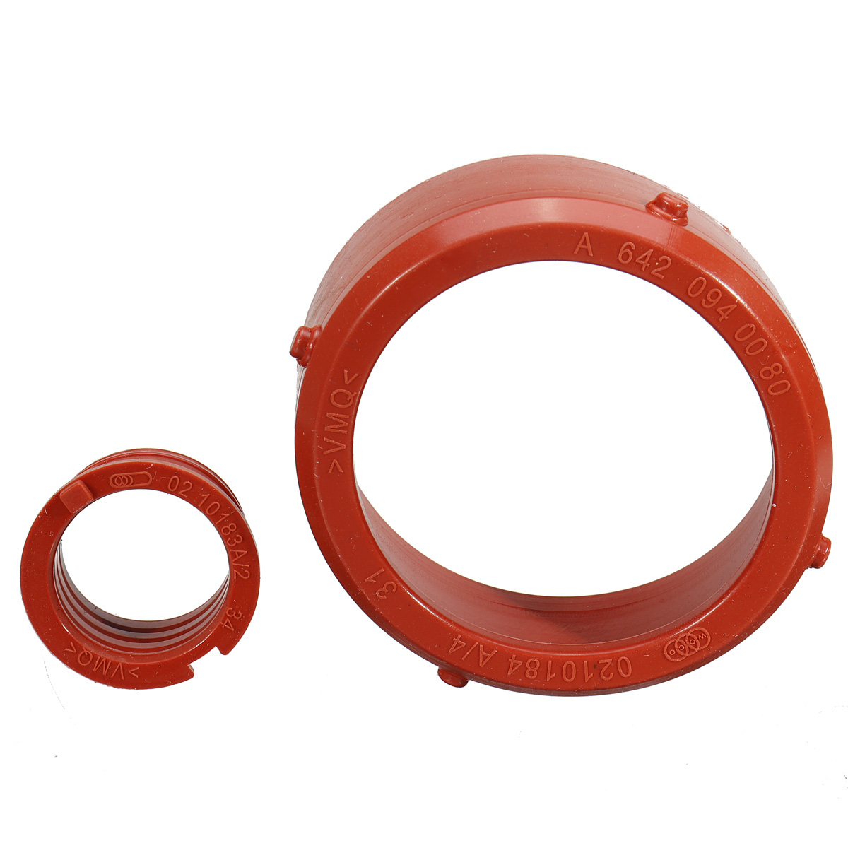 lowest price 2pcs  Car engine A6420940080 Turbo Intake Seal  amp  Engine Breather Seal Kit for Mercedes-Benz OM642 Engines Engine Accessories