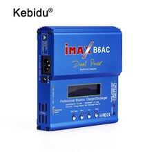 Kebidu imax B6 ac 80ワットB6AC rcバッテリー充電器リポnimhバランス充電器デジタルlcdスクリーン放電器eu米国電源