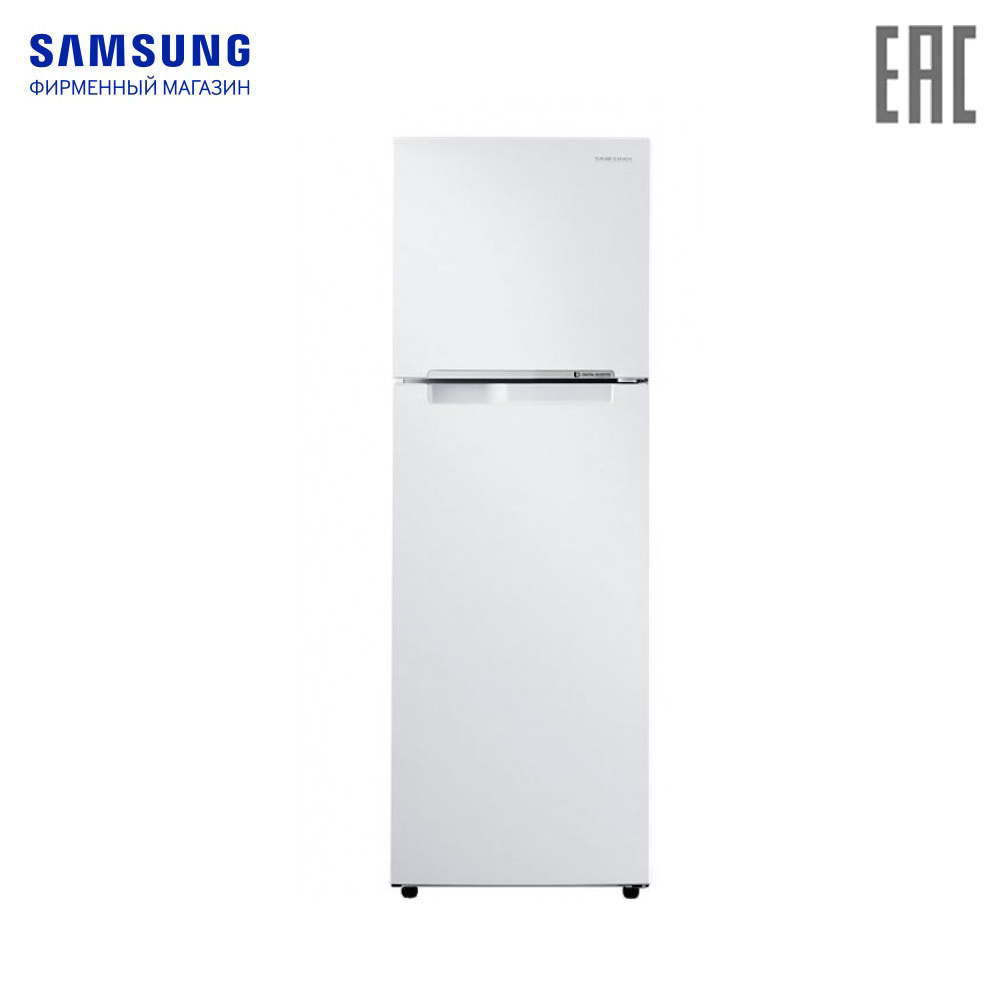 Refrigerators Samsung RT25HAR4DWW-WT refrigerator for home twin cooling kitchen appliance freezer food storage цена
