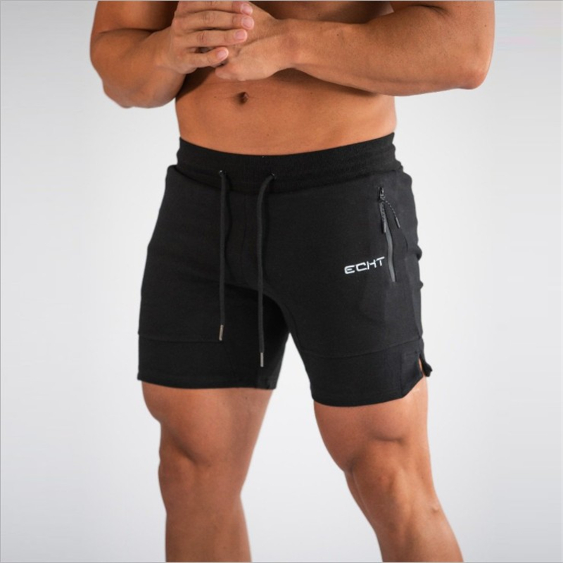 Men Fitness Bodybuilding Shorts Summer Gyms Workout Shorts Men  Beaching Shorts Quick Dry Sportswear Jogger Beach Short Pants