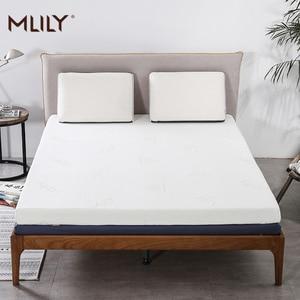 Матрас из пены памяти Mlily для кровати King Queen, полноразмерный Двухместный матрас 5 см, 2-дюймовый матрас, мебель для спальни