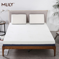 Mlily Memory Foam Mattress Toppper for Bed King Queen Full Twin Size 5cm 2inch Mattress Bedroom Furniture