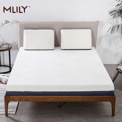 Mlily memória espuma colchão toppper para cama rei rainha gêmeo completo tamanho 5cm 2 polegada colchão quarto móveis