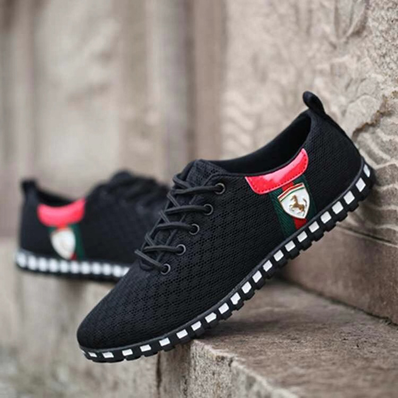 Walking Shoes Men Ultra-Light Mesh Breathable Man Athletic Trainers Male Sport Footwear Outdoor Zapatillas Hombre Deportiva